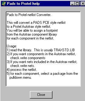Protel Autotrax Utilities
